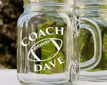Football, Football Coach, Football Dad, Football Player, Coach Glass, Dad Mug, Coach Gift, Jersey, Mom, Football Gift, Dad Gift, Fathers Day
