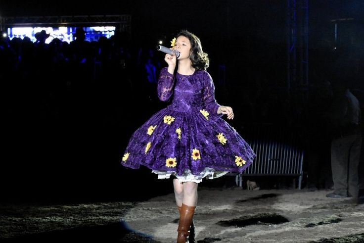 Angela Aguilar en Concierto  24 de Mayo 2015 Pico Rivera ...