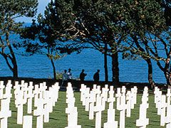 Europe River Cruise - American Military Cemetery, Le Havre