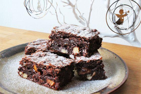 Brownies i julestemning