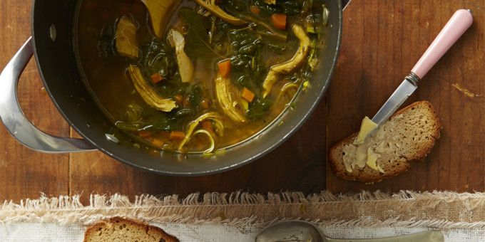 "Our ""How to make Kung-Flu-Fighting Chicken Soup"" video from our One-Pot Wonders Cookbook"