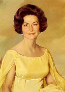"Claudia Alta ""Lady Bird"" Taylor Johnson (December 22, 1912 – July 11, 2007)[1] was First Lady of the United States (1963–69) during the presidency of her husband Lyndon B. Johnson."