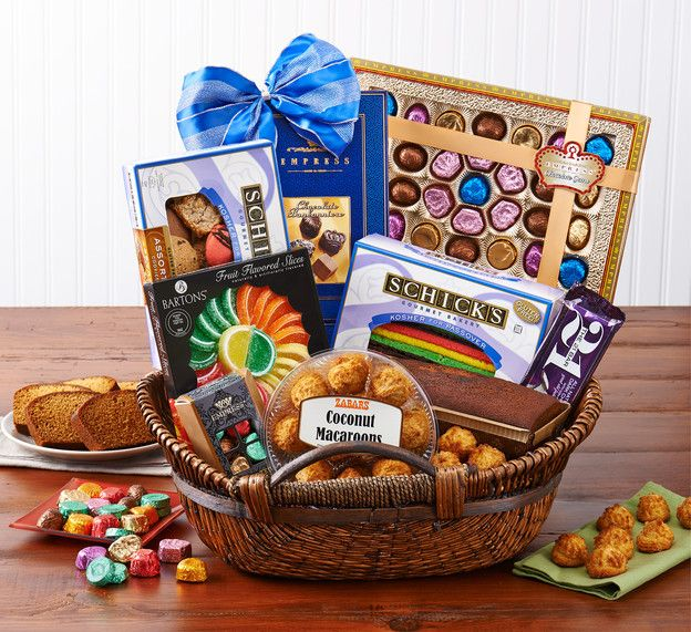 Zabar's Passover Basket Giveaway – Win a Gorgeous Basket from Zabar's New York with Macaroons, Fruit Slices, Rainbow Cookies and More! Comment to win #contest #prize