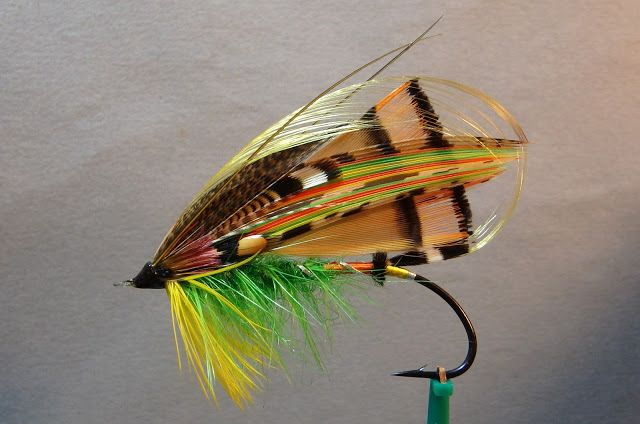 FISHY & CATCHY FLIES: Official Fly Shop of LEFTY ANGLER & FLIES in Livingston, MT: Atlantic Salmon Fly Gallery - 1: Traditional & Classic