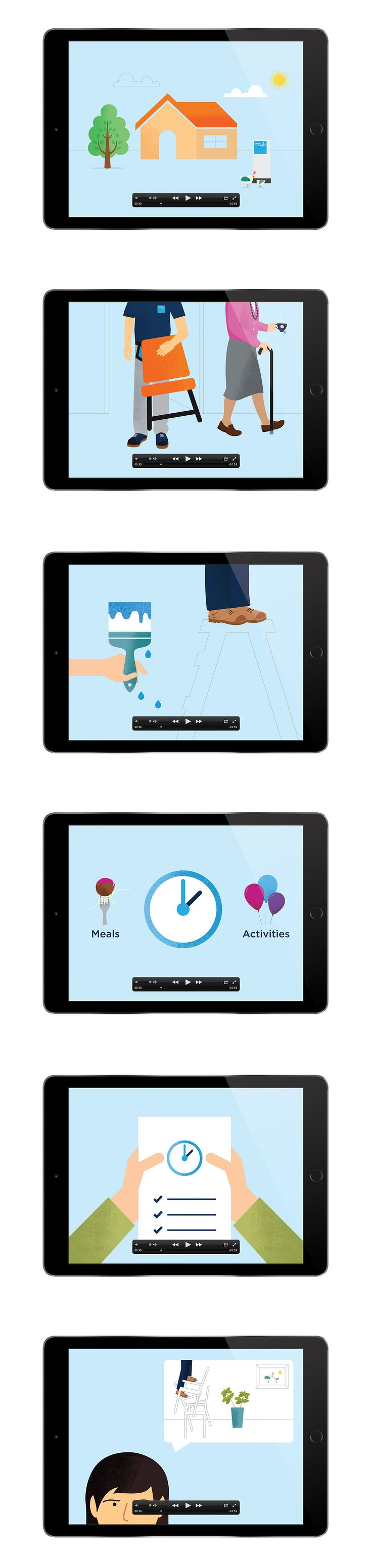 BUPA Aged Care by Ascender #brand #branding #identity #design #visual #graphic #logo #logotype #explainer #video #animation #motion #graphics #infographics #info #graphic #data #visualisation #BUPA #health #aged #care