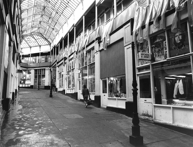 The sadly long-gone Handyside Arcade near Haymarket (Newcastle upon Tyne) - been & seen last around 1981.