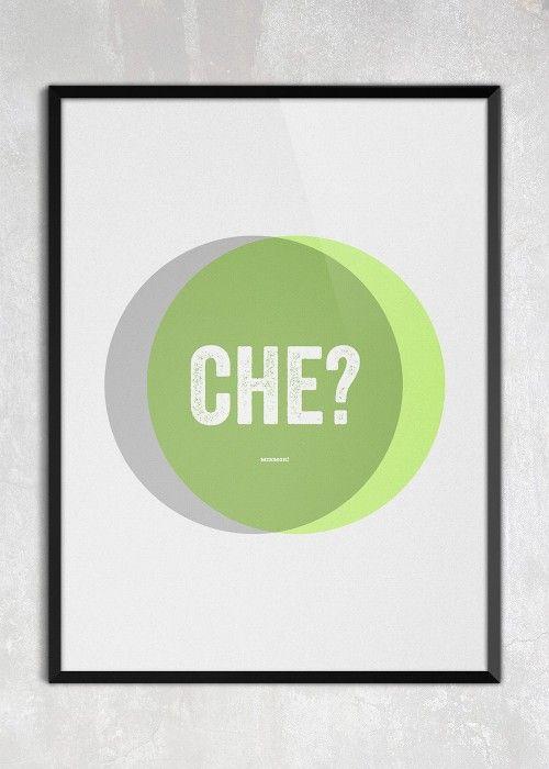Plakat CHE?
