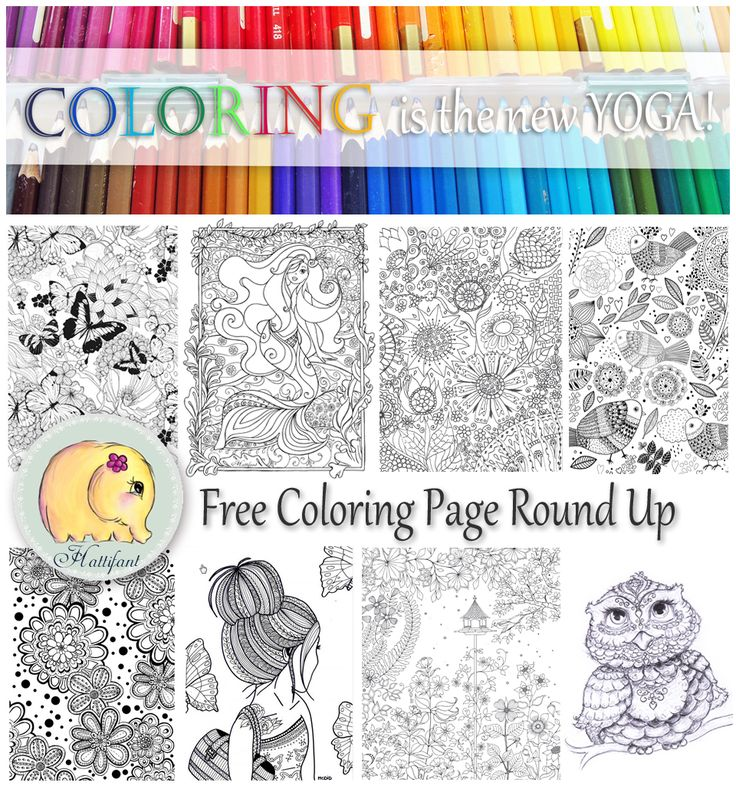 Click here to see all of Hattifant's favorite coloring pages throughout the internet!