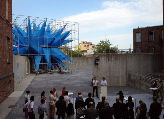 Meet Wendy - HWKN's temporary summer installation for the 2012 Young Architects Program!