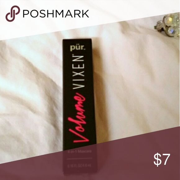 🙌 Brand New Pur Vixen Volume Mascara Brand new Pur Vixen Volume Mascara Travel Size. Combine any beauty products with 🙌 symbol 4 for 25!! Sephora Makeup Mascara