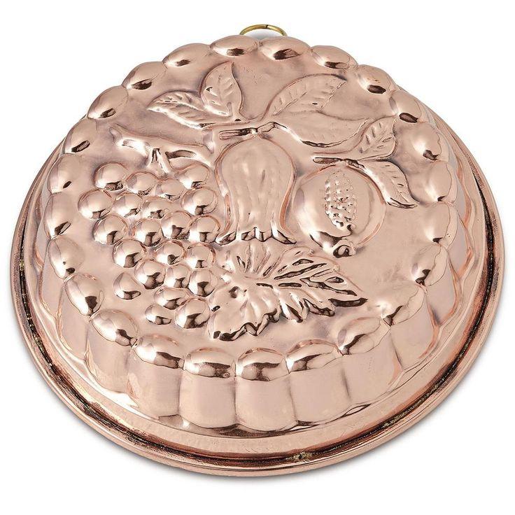 Tortiera per Dolci UVA in rame martellato Ø21xh7 cm - Litri 3,00 | CuArtigiana…
