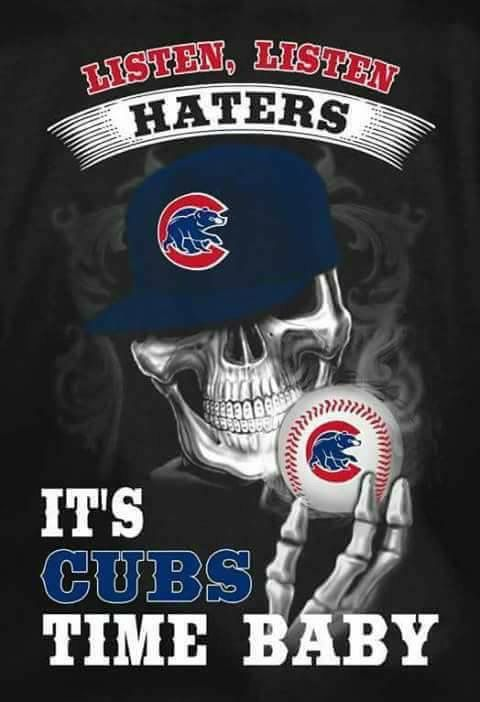 It's Cubs time baby!