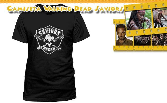 Camiseta The Walking Dead Saviors