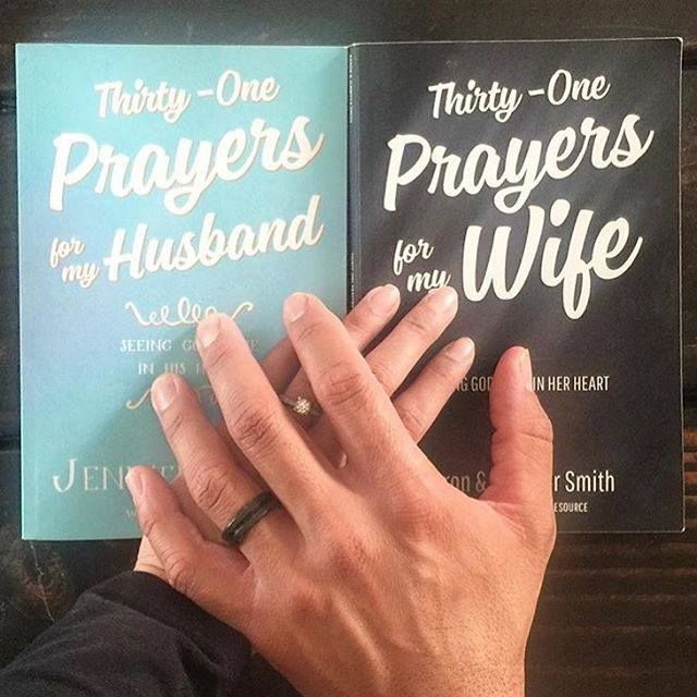 Love this image for so many reasons. When my husband and I started this journey we would have never have imagined that TENS OF THOUSANDS of you would join us in praying for your spouse using our books. Or that a selfie video we decided to do one day challenging people to try praying for their spouse for 31 days using our 31 day prayer bundles would be seen over 4 MILLION times on Facebook alone! I'm still in AWE. Unveiled Wife