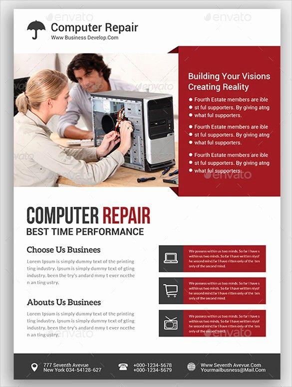 Best Of 26 Best Puter Repair Flyer Templates Flyer Template Flyer Design Templates Computer Repair