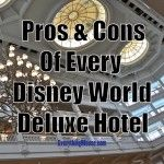 The Pros and Cons of Every Disney World Deluxe Hotel Resort.  This guide will help you to choose the perfect Deluxe Disney World Hotel for your vacation.