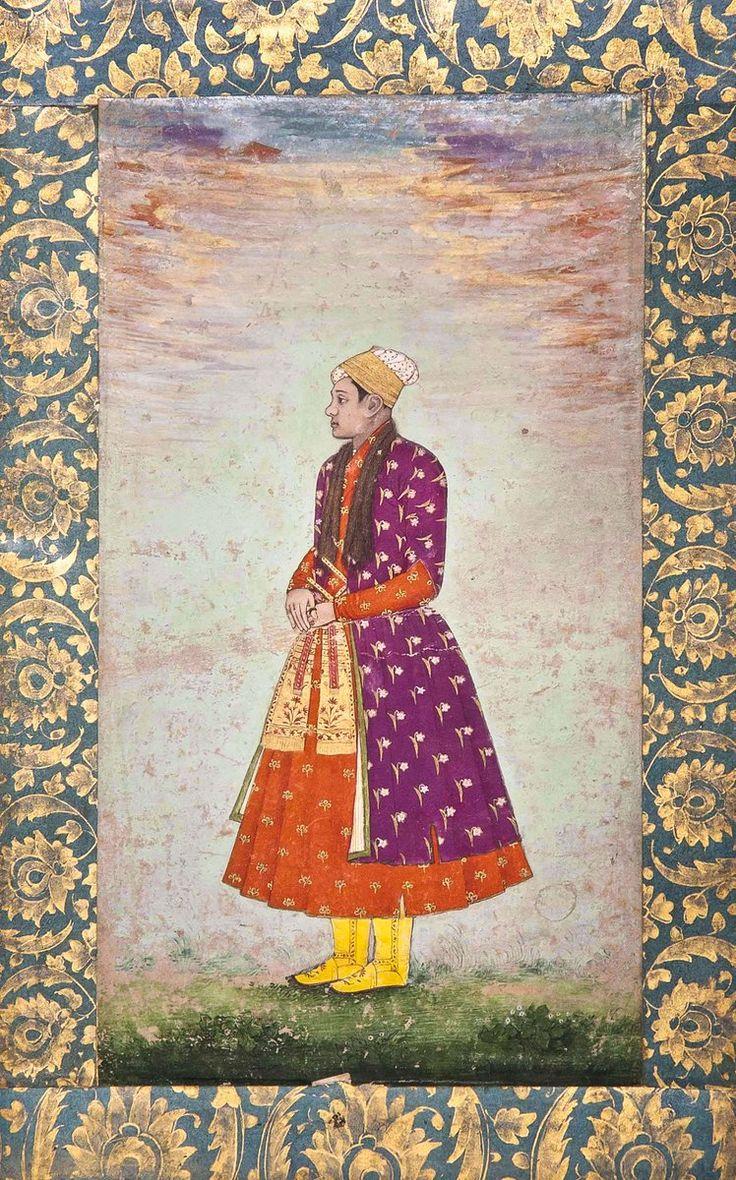 The Eunuch Khawas Khan. Bahadur Shah I era. Late 17th Century.