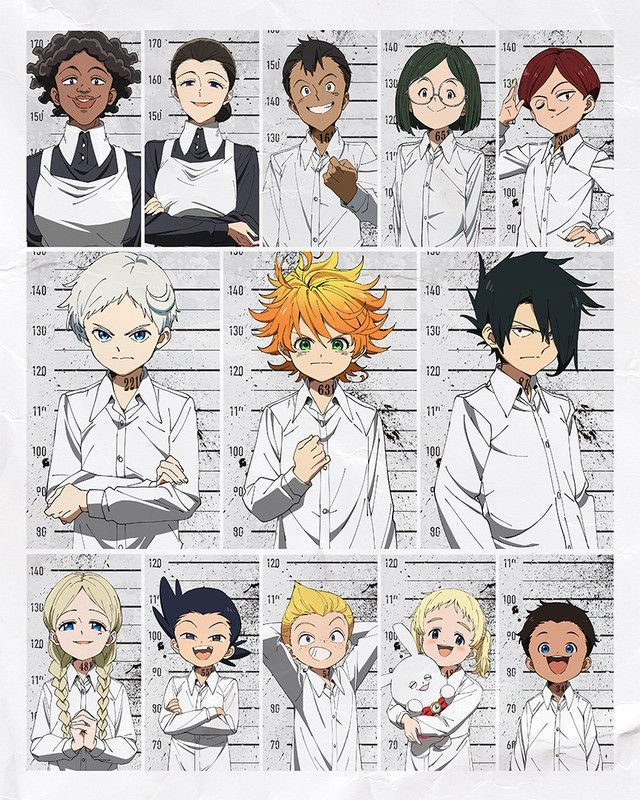 The Promised Neverland Announces Main Cast and Staff