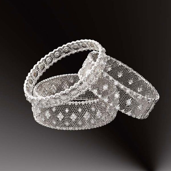 buccellati - the mesh wire is harder to keep clean than it looks, but are just so lovely.
