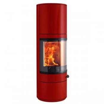 Kaminofen Scan 83-3 Maxi 5kW - Rot (GLR) - Feuerdepot.de