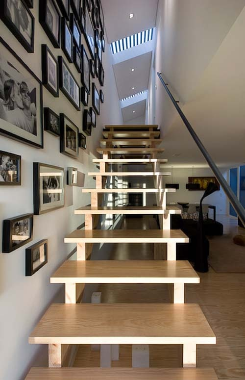 open rise stair
