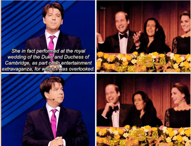 And then delivered this excellent shade. | 19 Times Michael McIntyre Was Actually Really Fucking Funny