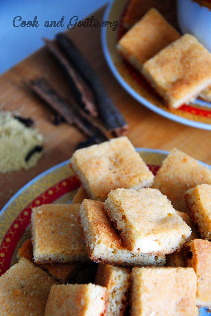 Biscuits épicés au chocolat blanc