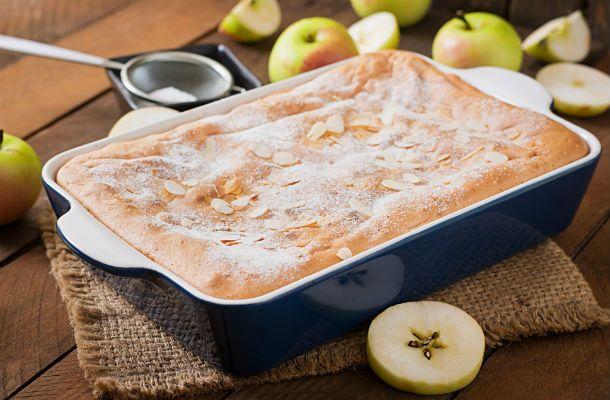Ha nem akarsz fél óránál többet a konyhában tevékenykedni, készítsd el az almás-mandulás sütit!