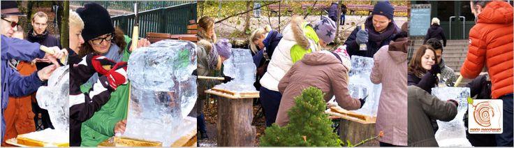 Teamevent – Eisschnitzen als Rahmenprogramm - http://www.mario-mannhaupt.de/eisschnitzen-als-teamevent-weihnachtsfeier-berlin-deutschlandweit