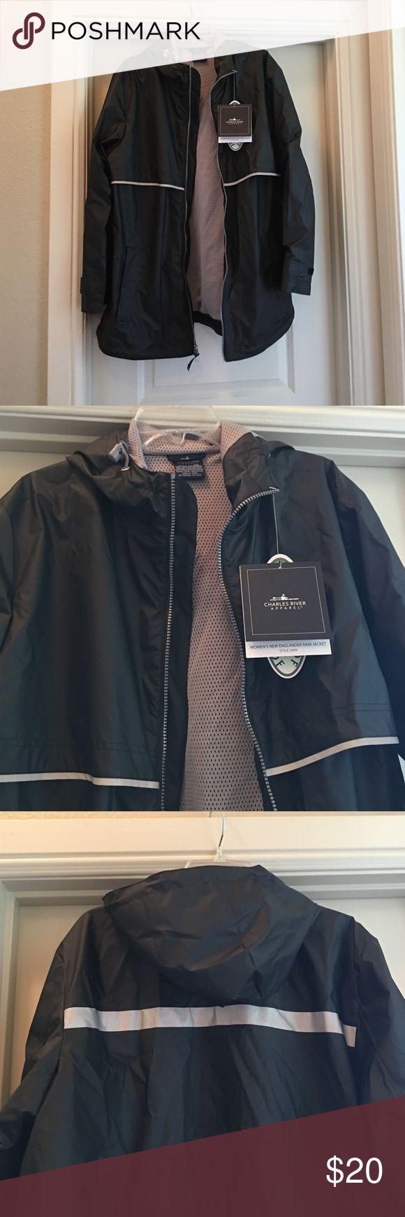 Waterproof Rain jacket Charles River Apparel Women's New Englander Waterproof Rain Jacket Charles River Jackets & Coats Utility Jackets
