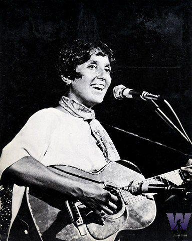 Joan Baez Vintage Print Woodstock (Bethel, NY) Aug 15, 1969