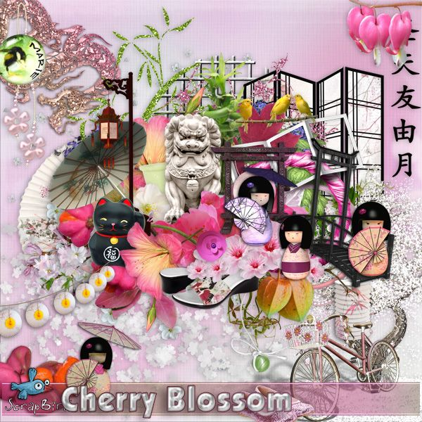 Cherry Blossom by Marie