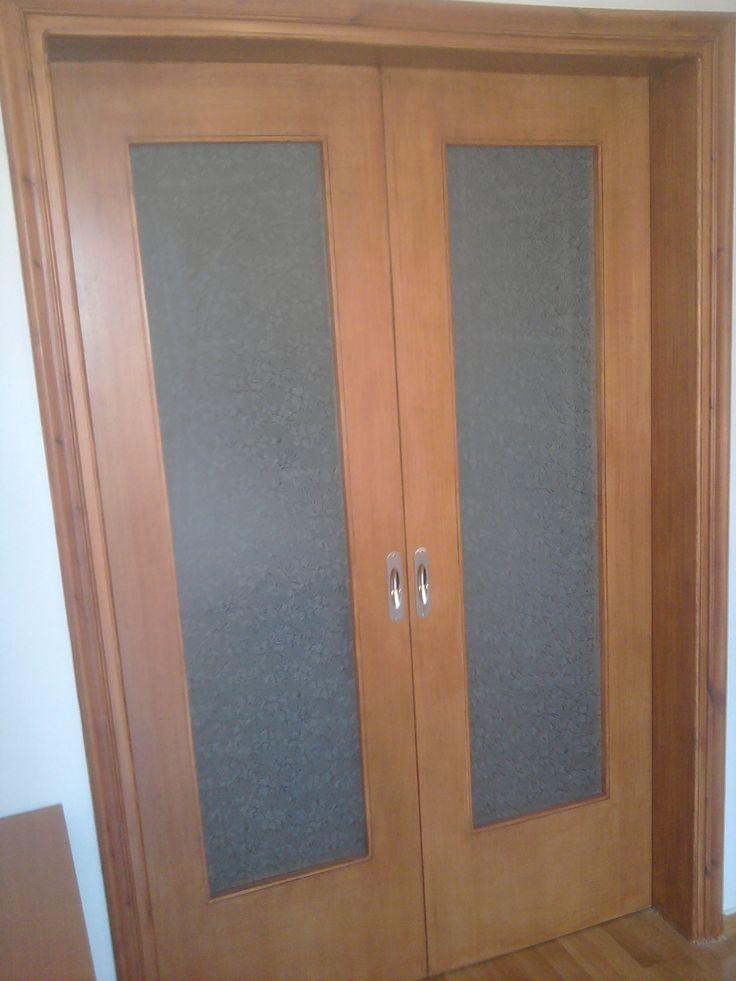 πορτα εσωτερική συρόμενη m.d.f με επένδυση καπλαμά, ΕΠΙΠΛΑ ΚΑΦΡΙΤΣΑΣ