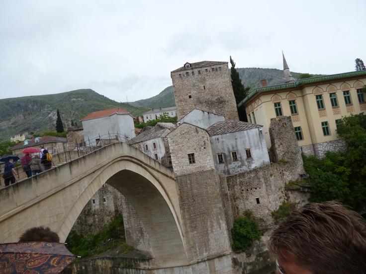 The old bridge, Mostar, BiH.