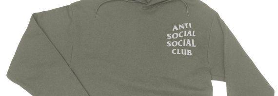 Anti Social Club Hoodie - Anti Social Social Club Sweatshirt - yeezy hoodie - Yeezus Hoodie - Kanye West Hoodie - Paranoid - assc #SocialSocialClub #Hoodies