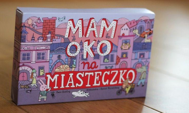 Plansze do układania miasteczka Mamoko od Mizielińskich, wydawnictwo Dwie Siostry <3