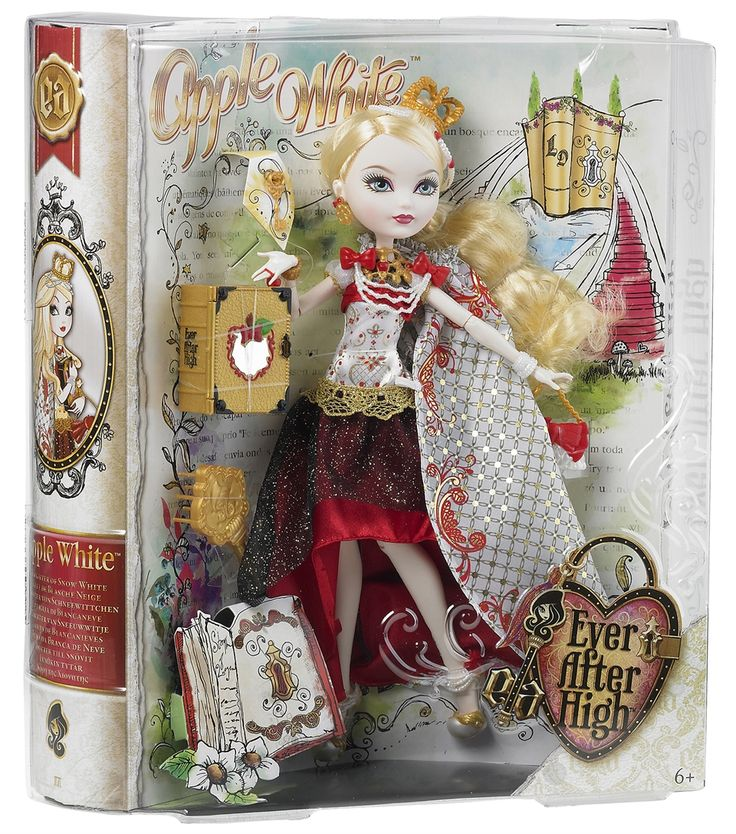 Hennie: Ever After High, Legacy Day Figure, Apple White