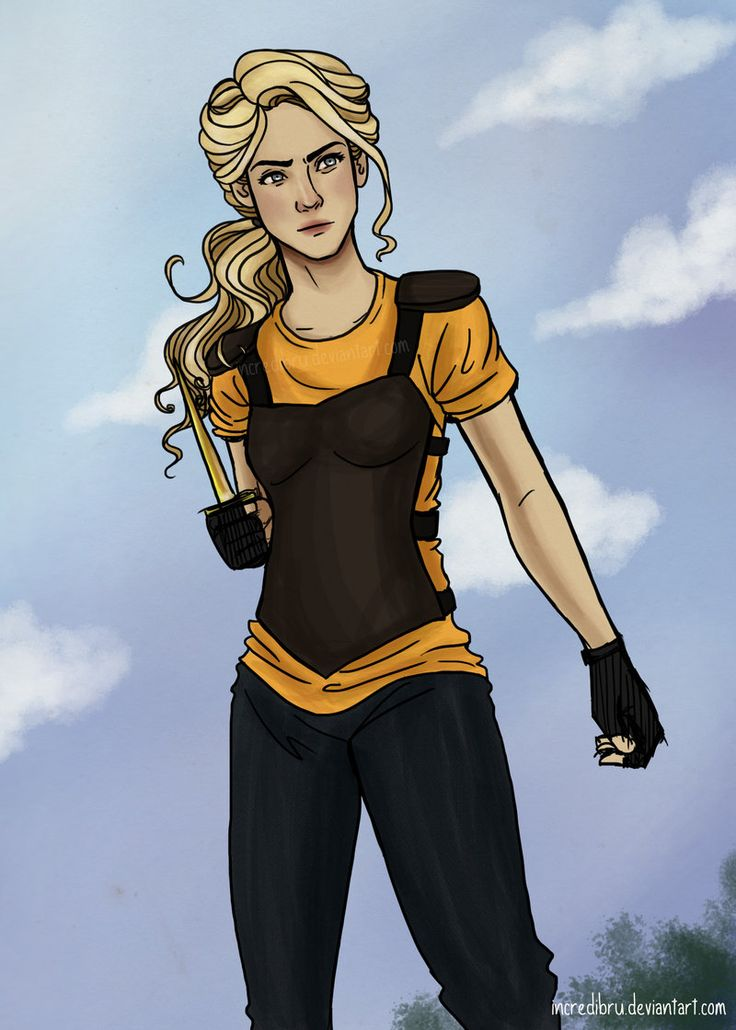 This is my favorite depiction of Annabeth. She looks way more mature and more like a daughter of Athena.