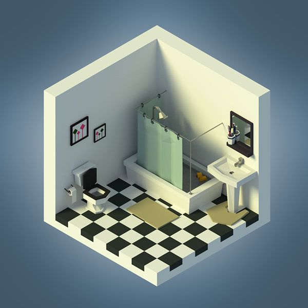 Isometric Art Collection, via abduzeedo.com