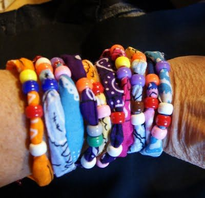 Bandana bracelets