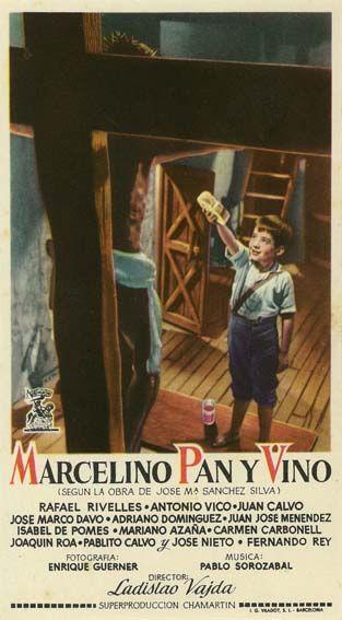 Marcelino pan y vino (1955) de Ladislao Vajda - tt0047216