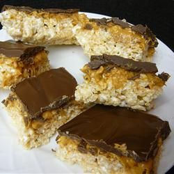 Zelfgemaakte chocolademueslirepen @ allrecipes.nl