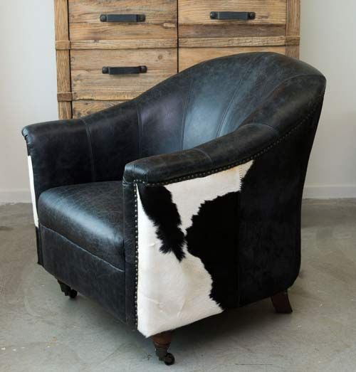 14 best cowhide upholstery images on pinterest armchairs couches and chairs. Black Bedroom Furniture Sets. Home Design Ideas