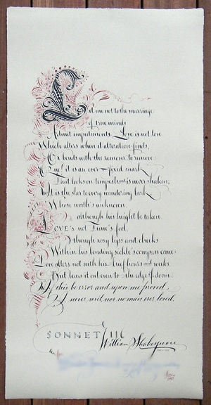shakespeares sonnet 116 William shakespeare who is the speaker of sonnet 116 tpcastt what is the occasion by ariel giselle mark sidney kassidy sonnet 116 analysis he is speaking to himself.