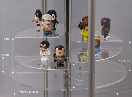 Acrylic Display Case Tiers : Acrylic / Perspex Display Case Tiers