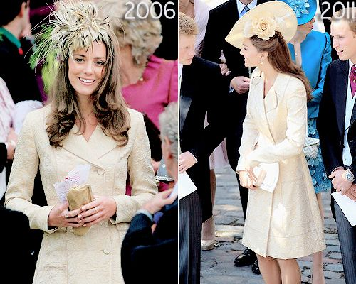 katemiddletons:  Duchess of Cambridge Recycled Coats Before and After Marriage
