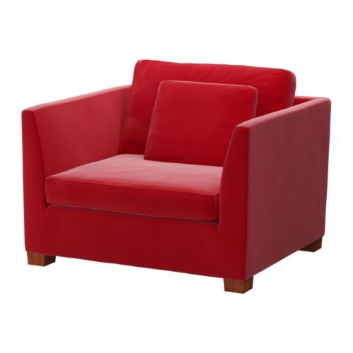 NORSBORG Sectional 4 seat Corner Finnsta Red Birch Purple Sofa