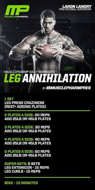 Muscle Pharm - Leg Annihilation                                                                                                                                                                                 More