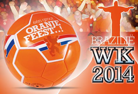 Op naar het WK 2014 in Brazilië | Oranje artikelen WK 2014