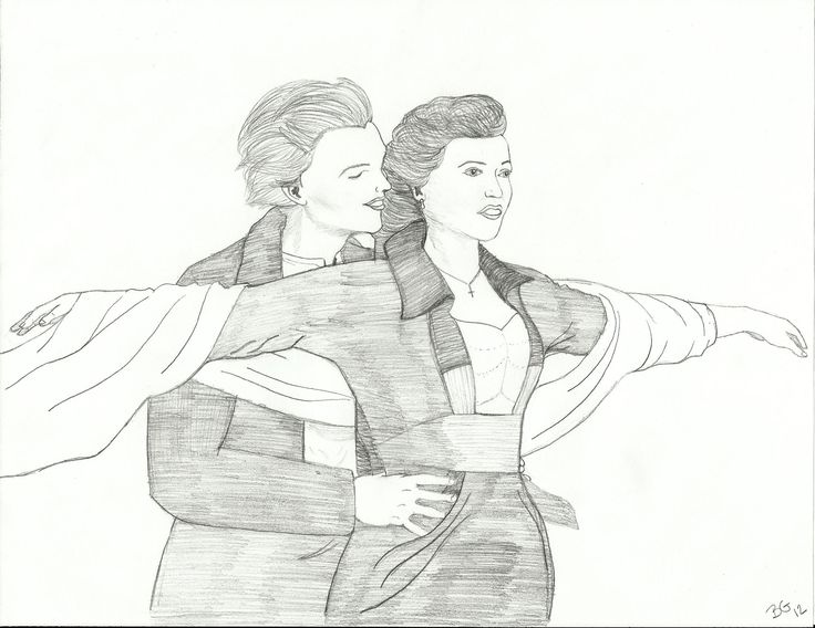 jack and rose coloring pages - photo#8